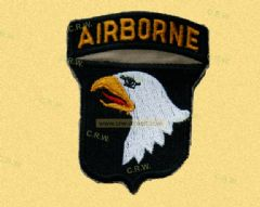 WWII Airborne patch Eagle replica (free shipping)